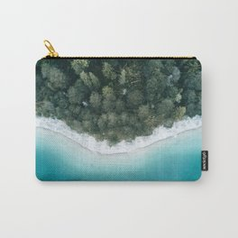 Green and Blue Symmetry - Landscape Photography Carry-All Pouch