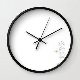 Yippee ki-yay, motherfucker Wall Clock
