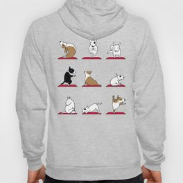 Bull Terrier Yoga Hoody