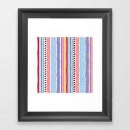 Candy madness Framed Art Print