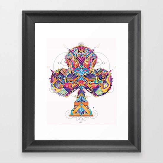 trefle Framed Art Print