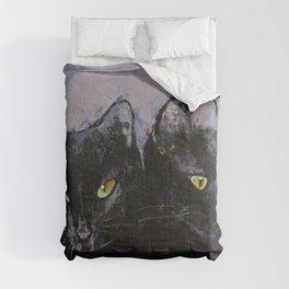Gothic Cats Comforters