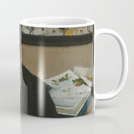 Edgar Degas - The Collector of Prints (1866) Coffee Mug