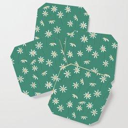 Daisy Green Coaster