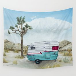 My home in Joshua Tree Wall Tapestry
