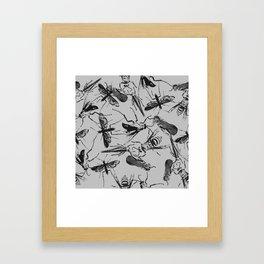 Bugs #1 Framed Art Print