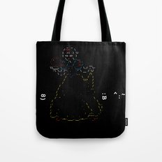 Snow White and the 7 Emoticons Tote Bag