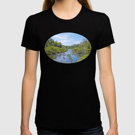 Beautiful tranquil river in the tropics T-shirt