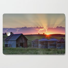 Home Town Sunset Cutting Board
