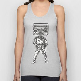 Old School Boy Unisex Tank Top
