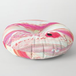 Fantasia | Pink | Magenta | Love | Rodochrositis Floor Pillow