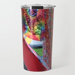 camping in the mountains Travel Mug