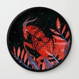 Zodiac - Capricorn Wall Clock
