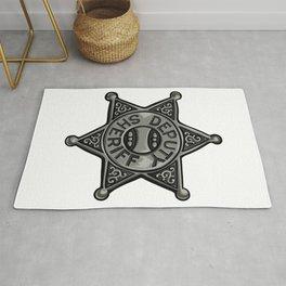 Deputy Sheriff Badge Rug