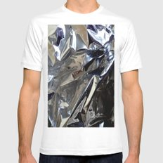 SCULPTURE Mens Fitted Tee White MEDIUM