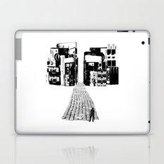 Dead Sound City (Black on White) Laptop & iPad Skin