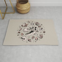 Geo-rex Vortex | Rose Quartz Rug