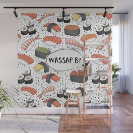 WASSAP B? Wall Mural
