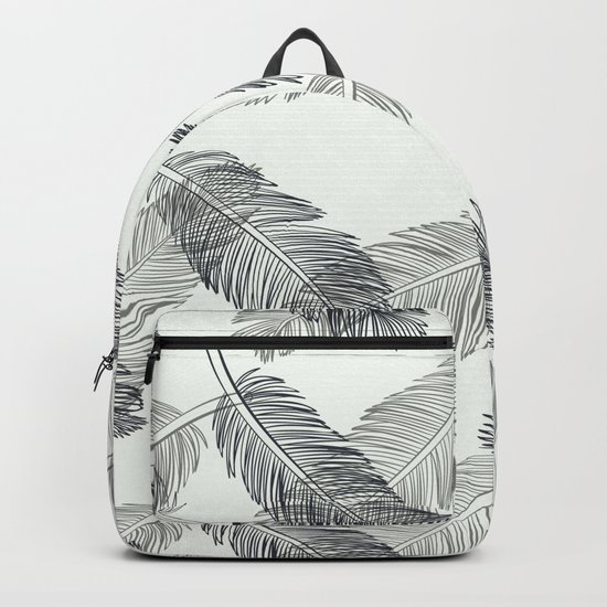 Black Feathers Backpack