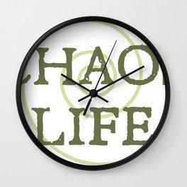 ChaosLife: The Print Wall Clock