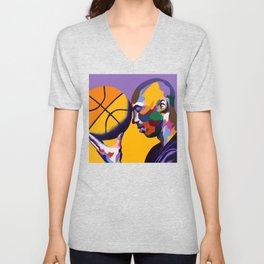 One With The Game Unisex V-Neck