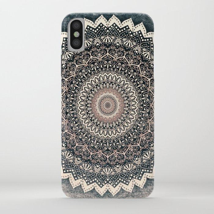 warm winter mandala iphone case