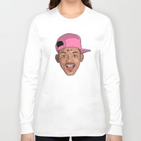 fresh prince Long Sleeve T-shirts featuring Sitcom OG, Master William, The Fresh Prince of Bel-Air. by Mr. Mour