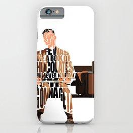 Forrest Gump iPhone Case