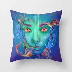 Primal Throw Pillow