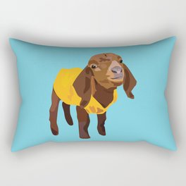 Goaty McGoatface - yellow Rectangular Pillow