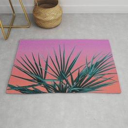 Pink Palm Life - Miami Vaporwave Rug
