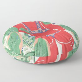 The Art Of Bikini Floor Pillow