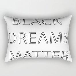 Black Dreams Matter Rectangular Pillow