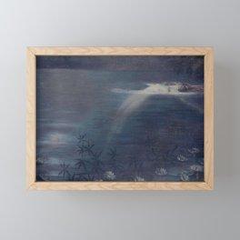 Moonlit Pool by Philip Leslie Hale Framed Mini Art Print