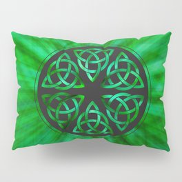 Celtic Knot Star Flower Pillow Sham