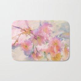 Chinese Cherry Blossom Bath Mat