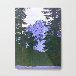 Mount Rainier II Metal Print