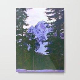 Mount Rainier II Metal Print