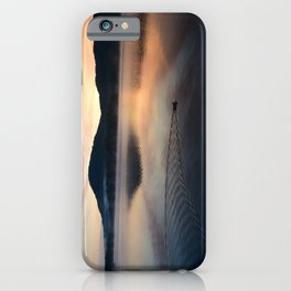 Night's End: Making Ripples iPhone Case