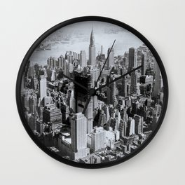 Vintage New York City Wall Clock