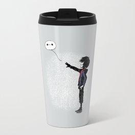 Boy with Robot Travel Mug