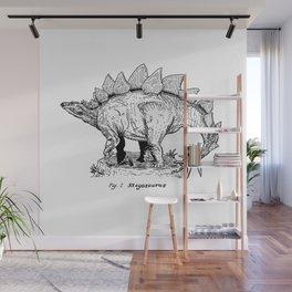 Figure One: Stegosaurus Wall Mural