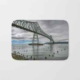 Astoria - Megler Bridge Bath Mat