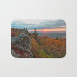 Autumn Dolly Sods Sunrise Bath Mat