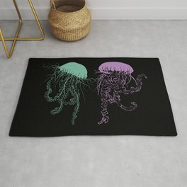 Jellyfish Dance Rug