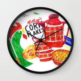 Kelloggs Cornflakes Wall Clock
