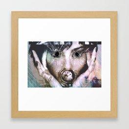 pretty Faces Framed Art Print