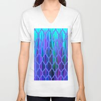 morocco V-neck T-shirts featuring Morocco by Saundra Myles