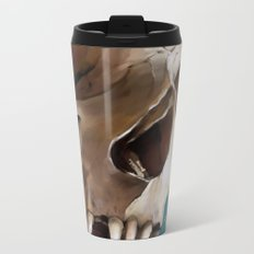 Skull 2 Metal Travel Mug