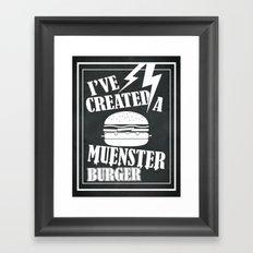 I've Created a Muenster Framed Art Print